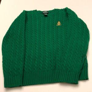 Lauren Ralph Lauren Cable-knit Cotton Sweater NWOT